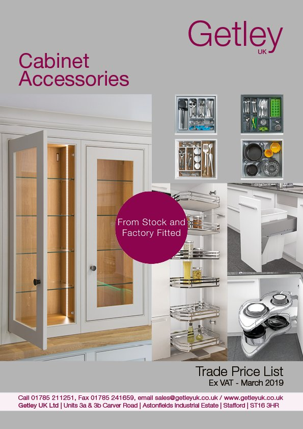 Getley UK Cabinet Accessories