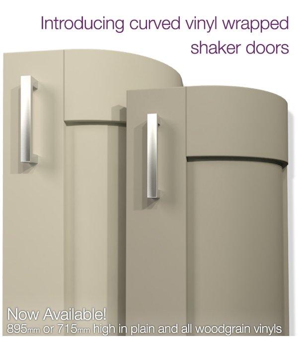 Getley UK Curved Vinyl Shaker Door