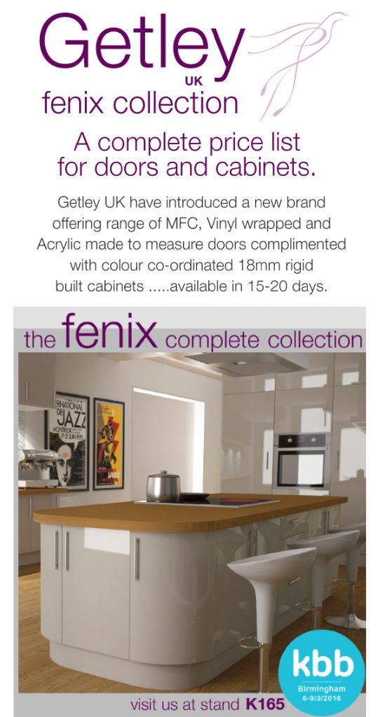 Getley UK Fenix Collection