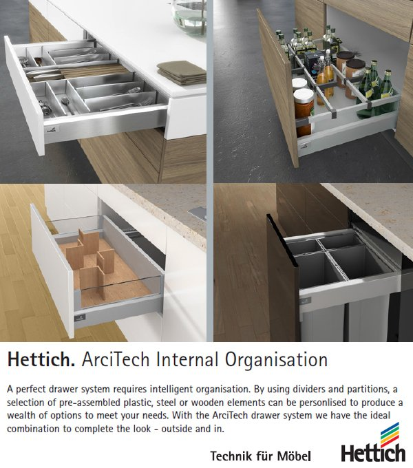 Getley UK Hettich ArciTech Internal Organisation